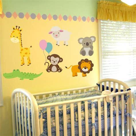 Nursery Animal Wall Decals Nursery Animal Wall Decals Thenurseries