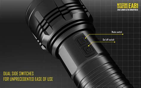Nitecore Ea81 Senter Led Cree Xhp50 2150 Lumens nitecore ea81 senter led cree xhp50 2150 lumens black jakartanotebook