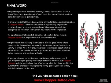tattoo maker online tattoo maker online