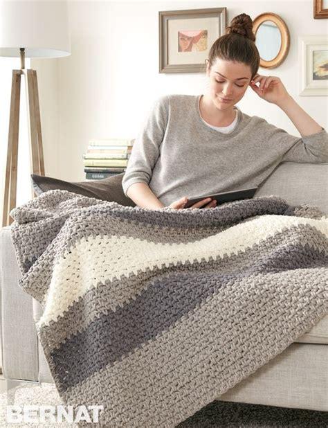 crochet pattern using bernat blanket yarn yarnspirations com bernat hibernate blanket patterns