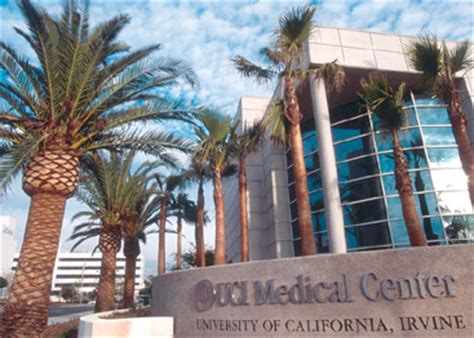 directions  uc irvine medical center robotic