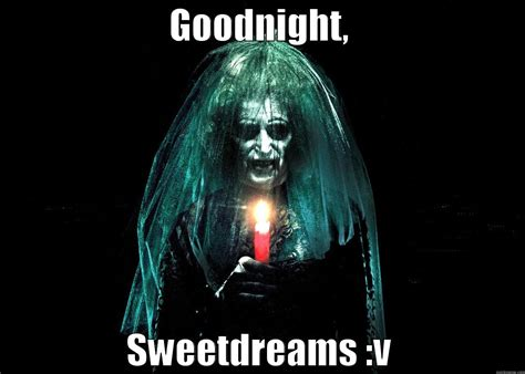 Scary Goodnight Meme - goodnight scary face meme