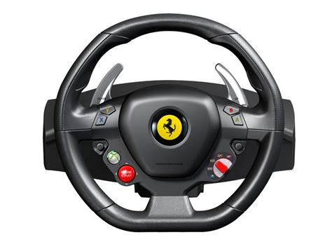 thrustmaster 458 italia racing wheel for pc and