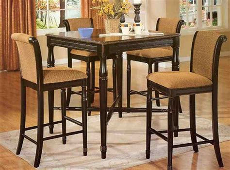 high table and chair set high kitchen table and chairs decor ideasdecor ideas