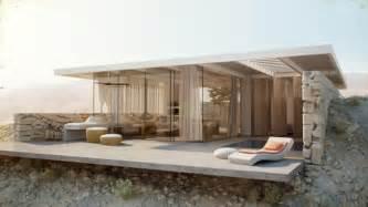 Classy Modern Bedroom Ideas - home design exterior small modern minimalist desert home design inspiration with glass wall