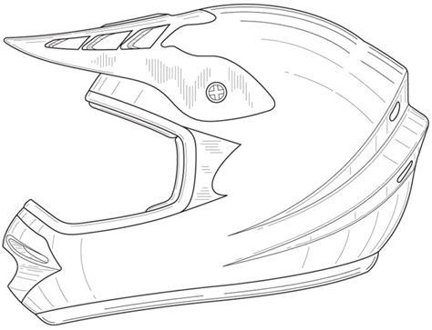 motorcycle helmet coloring page dibujos para colorear casco de motocicleta imprimible