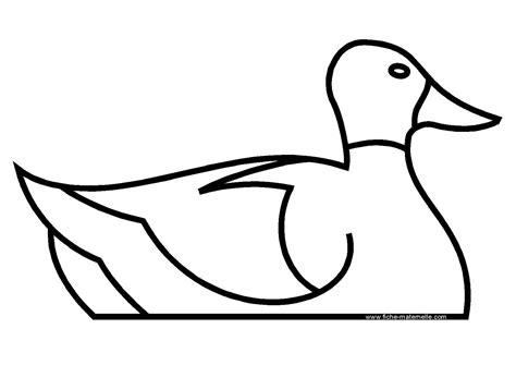 Coloriage Canard Gratuit