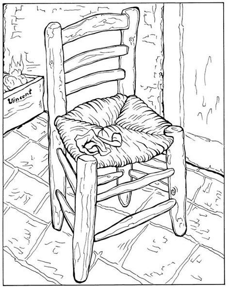 coloring pages vincent van gogh coloring page vincent van gogh kids n fun arte para