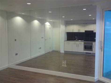 wall of mirrors mirror fitters installers in newcastle sunderland