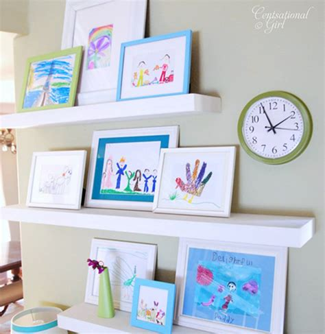 how to display art prints 5 wall gallery ideas for kids artwork