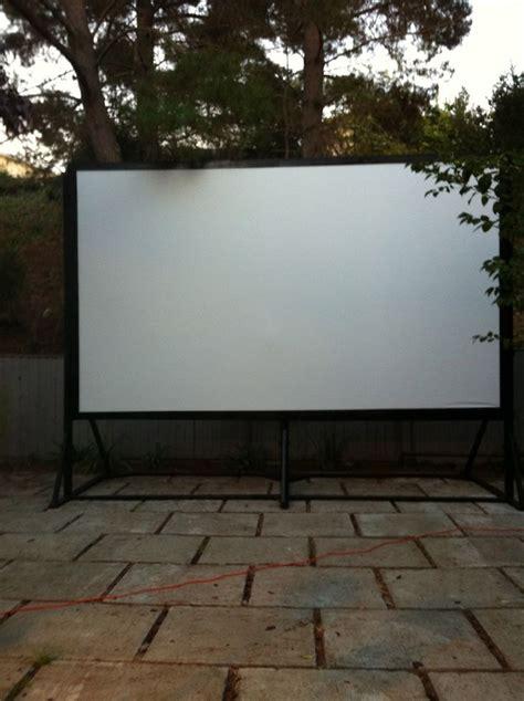diy outdoor projection screen 38 best outdoor screen diy cinema outdoor ideas images on outdoor ideas