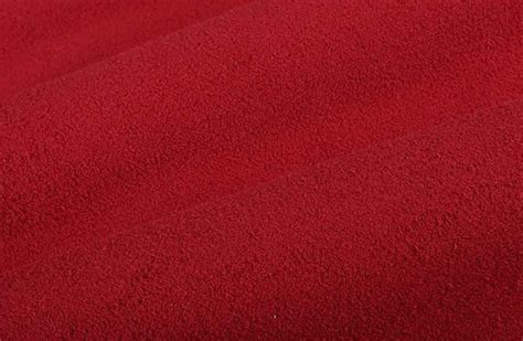 Sheepskin Upholstery Fabric by Shearling Suede Upholstery Fabric In Lipstick