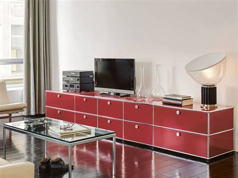 modular living room storage sectional modular metal storage unit usm haller sideboard for living room by usm modular furniture
