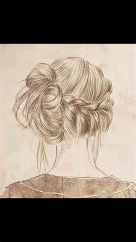 realistic plait hair styles 17 best images about braid drawings on pinterest