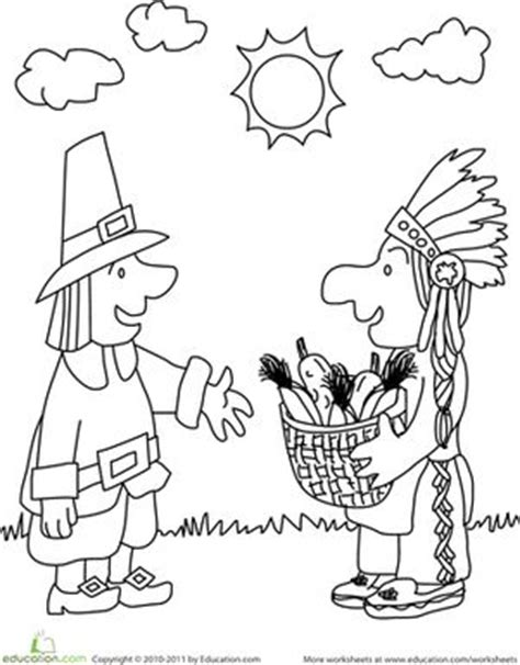 coloring pages for kindergarten thanksgiving thanksgiving kindergarten worksheets