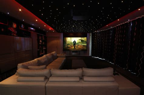 Decoration Ideas For Small Bedrooms cinema room contemporary home cinema other by