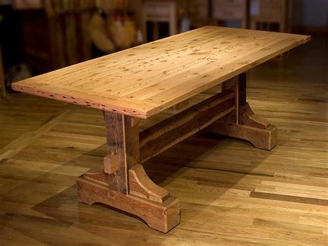 rustic dining table plans        making