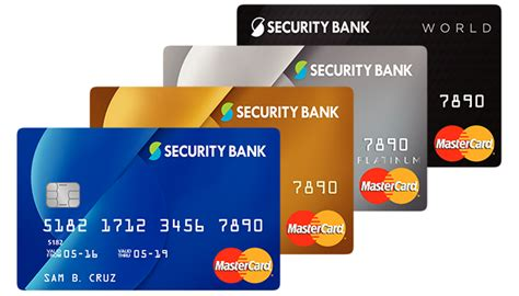 security bank banks with mastercard debit cards images
