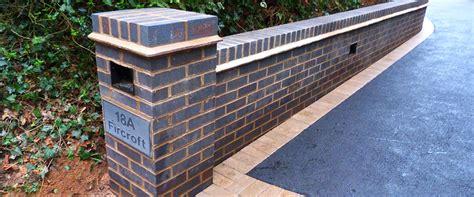brick walls birmingham garden walls installations