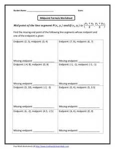 midpoint and distance worksheet fioradesignstudio