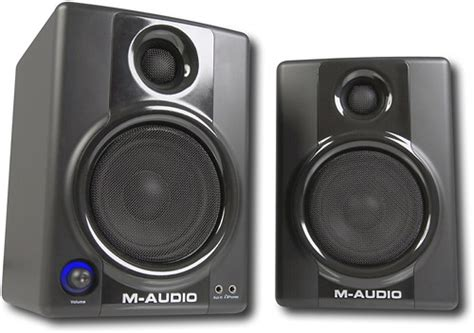 m audio studiophile 4 quot bookshelf speakers pair