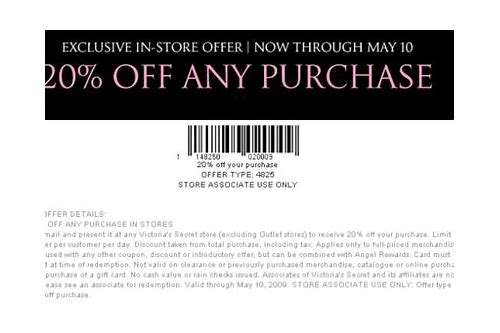 victoria secret coupon june 2018
