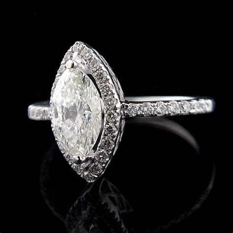 marquise engagement ring settings engagement rings