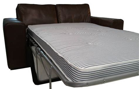 sofa bed with real mattress strand leather sofa bed real leather sofabeds online