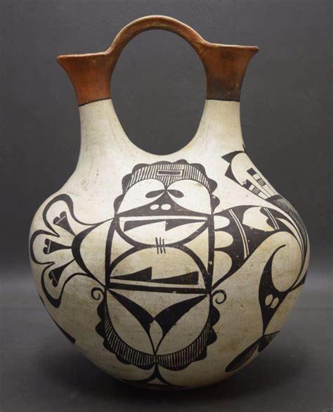 Acoma Wedding Vase by Acoma Pottery Wedding Vase