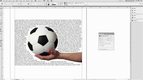 creating shapes indesign indesign tutorial wrap text around images shapes and