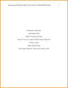 Apa 6th Edition Sle Paper Outline by Apa Title Page Maker