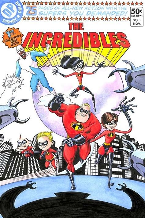 Collection Book Incredibles the incredibles pixar comic book disney all the time