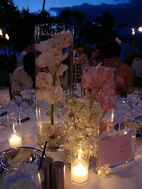 live centerpieces table submerged flower centerpieces gorgeous if you don t want