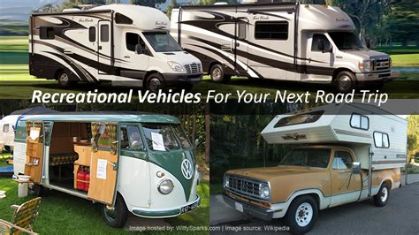 Road Recreational Vehicles by Top 3 Types Of Rvs For Your Cross Country Road Trip