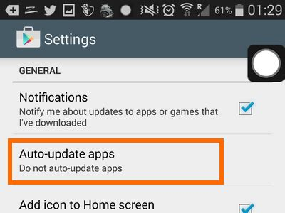 how do i update my android how do i disable automatic app updates on my android phone