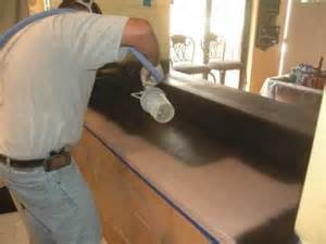 How To Refinish Kitchen Countertops Yourself by Kitchen Countertop Refinishing Wmv