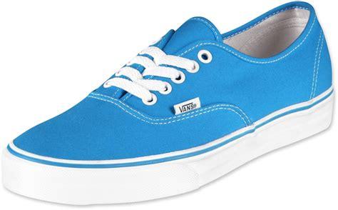 vans authentic shoes methyl blue white
