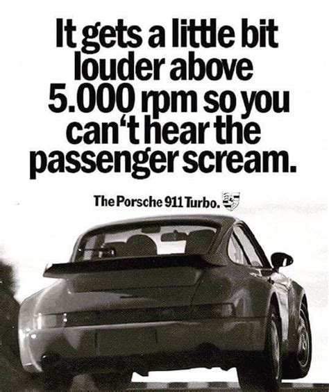 Porsche Quotes by Funny Porsche Ads Page 2 Pelican Parts Forums