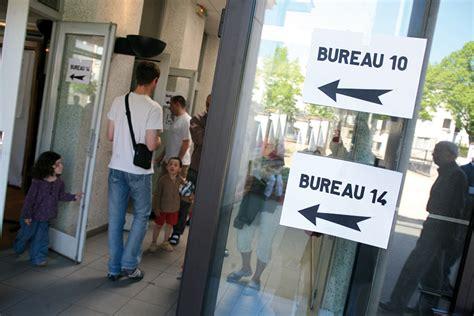 horaire des bureaux de vote r 233 gionales 2010 horaires des bureaux de vote