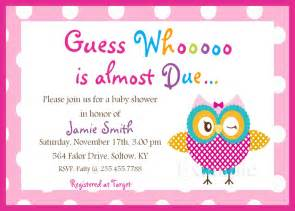 Invitation For Baby Shower Template by Baby Shower Invitations Templates Free