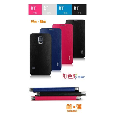 Imak Flip Leather Cover Series For Samsung Galaxy S 6e3jqq Black imak flip leather cover series for samsung galaxy s5