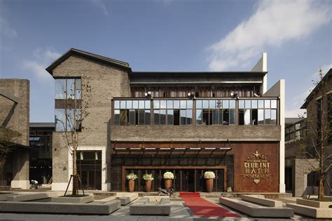 architectural design com gallery of hefei 1912 commercial street lacime