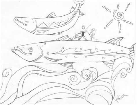 free coloring pages of brook trout