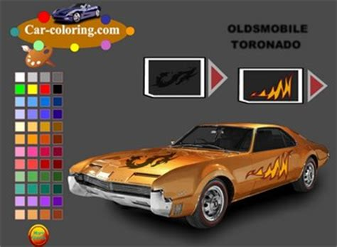 juegos gratis para ninos de pintar carros oldsmobile toronado car creando tu auto so 241 ado guegos