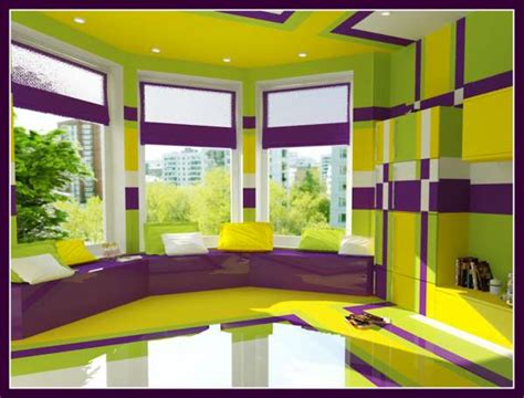 yellow color home design psychedelic bedrooms olga tcherednikova s interior color