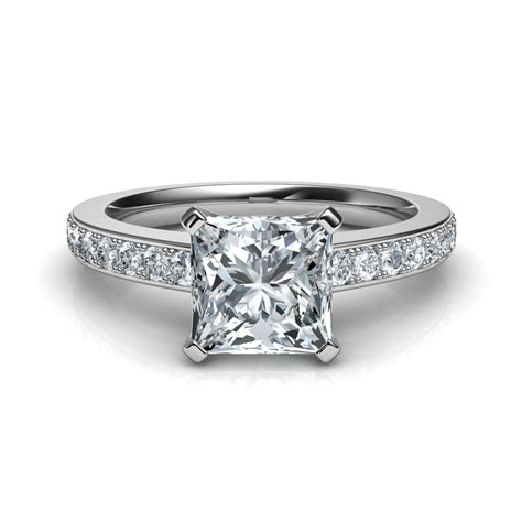 Princess Cut by Novo Princess Cut Engagement Ring