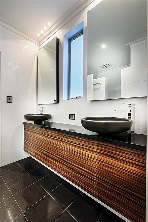 mirrors over bathroom vanities dazzling mizu in perth combines smart technology with