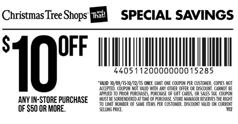 20 christmas tree shops coupon printable coupons
