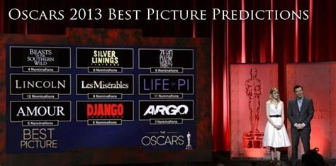 oscars best picture 2013 heyuguys best picture oscar predictions 2013 edition