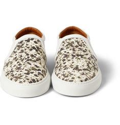 New Givenchy 1398 Bahan Croco Print Flower designer sneakers on mr porter